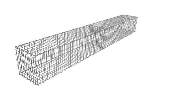 Gabionenmauer Komplett inklusive Spiralen und Distanzhalter