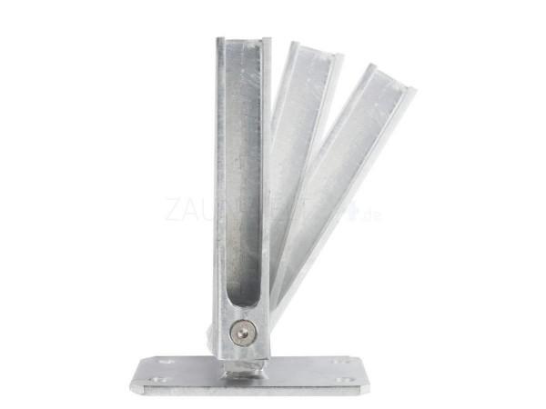Fußplatte Gefälle 60/40mm
