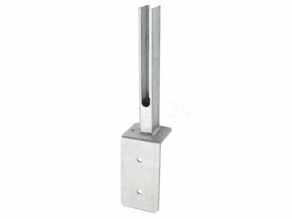 Winkel-Fußplatte Universal 60/40mm