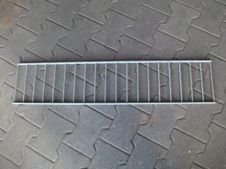 Abdeckung für Rako-Zaun-Gabione 110x16,5 cm