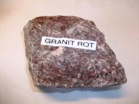 Granit-Steine rot Körnung 50-90mm