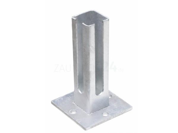 Fußplatte Eck-Pfosten 60/60mm