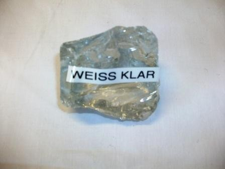 Glasstein weiss klar Körnung 80-120mm