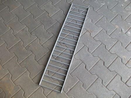 Abdeckung für Rako-Zaun-Gabione 101x26,2 cm