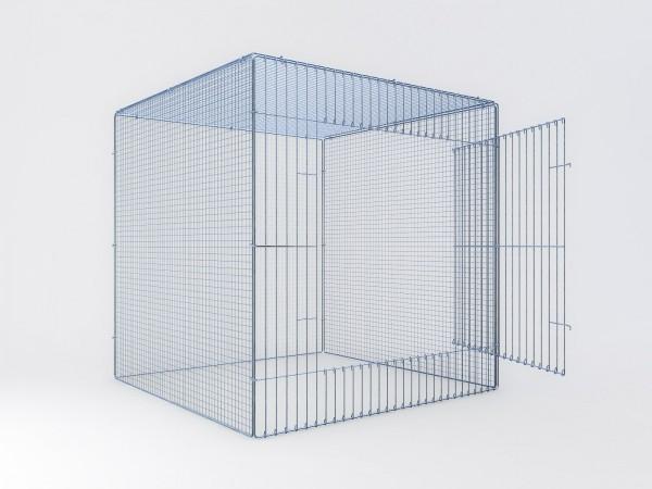 Ausstellungskäfig 100x100x100cm, 1 Abteil