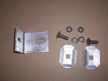 Befestigungmaterial (Winkel) für die Abdeckung der Rako-Zaungabionen
