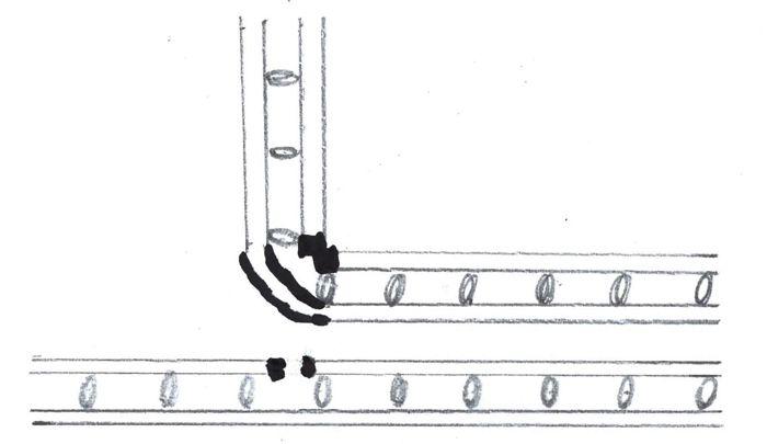 Biegung-Doppelstabmatten